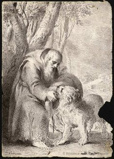 José Camarón Bonanat (1731-1803), San Jerónimo, Dibujo,1760/80   Biblioteca Digital Hispánica