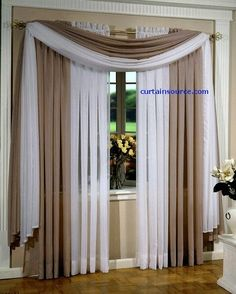 curtains and window treatments Curtains And Draperies, Home Curtains, Drapery, Lined Curtains, Valances, Window Curtains, Living Room Decor Curtains, Living Room Windows, Curtain Styles