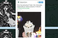 Great Twitter post from Starbucks in Paris / Sympathique post Twitter de Starbucks à Paris https://twitter.com/StarbucksFrance/status/562883833067208705