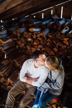 You don't have to be engaged to capture and celebrate your love for each other! Winter Couple Session in Lanark Highlands Ottawa Valley, Highlands, Engagement Session, Couples, Couple Photos, Celebrities, Winter, Photography, Couple Shots