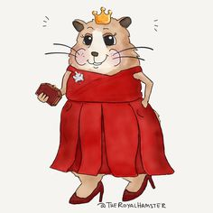#TheRoyalHamster doesn't care if 'Lady in Red' is stuck in your head. *nods; waits for you to bring him a cocktail* #royalvisitcanada #royaltourcanada #katemiddleton #preen #duchessofcambridge