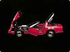 The 1984 Corvette  http://www.gm.com/company/historyAndHeritage/globalization.html