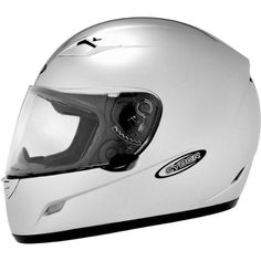Cyber Helmets US-39 Solid Helmet , Size: Lg, Primary Color: Silver, Distinct Name: Light Silver, Helmet Type: Full-face Helmets, Helmet Category: Street, Gender: Mens/Unisex 640743. Thermoplastic alloy injected shell.