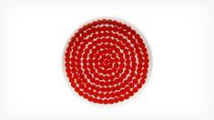 EQ3 | Siirtolapuutarha Plate - Red/White