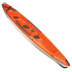 £619.99 - Kayaks - BORNEO SIT ON TOP KAYAK 3 MAN ORANGE - BIC SPORT