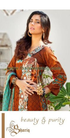 Latest Sahil Collection 2013-14 By Shariq Textiles