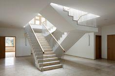 Menzi Bürgler Architekten - School house, Matzendorf 2009. Another great scupper detail. Photos © Beat Bühler.