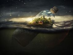 Drifting Away by Erik Johansson - INPRNT