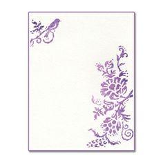 Sizzix Ink-its Letterpress Plate - Rustic Elegant Flowers $7.99