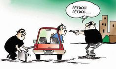 There will be a time where people will not be stealing cars but the petrol inside it!Do you agree?