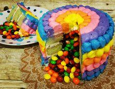 Ava's Piñata Cake