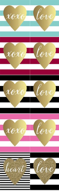 Free Printable Valentine's Day Art Prints - Paisley Petal Events