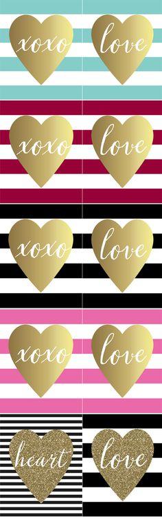 Free Printable Valentine's Day Art Prints - Paisley Petal Events