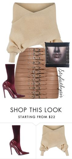 """""""Untitled #6798"""" by stylistbyair ❤ liked on Polyvore featuring Balenciaga and WithChic"""