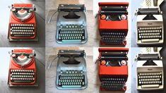 Olivetti typewriter expert!