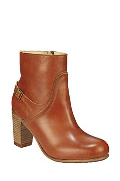 Bottines en cuir Niki Camel Ikks women sur MonShowroom.com