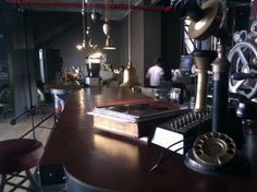 Truth steampunk coffee shop Cape Town, South Africa