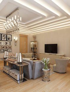 Дизайн кабинета хозяйки загородного дома, Санкт-Петербург (2000 кв.м.) - Дизайн-студия ICON