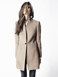 Love this coat shape: Womens Lookbook | AllSaints