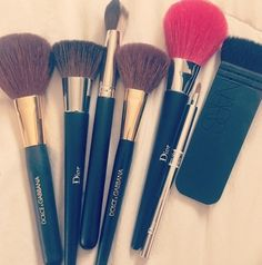 -♥- #Dior beauty brushes dior makeup beauty cosmetics make-up Colorized brushes-♥-