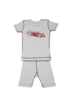 organic race car pajamas for your little boy this summer $25.00  https://www.franklingoose.com/Skylar+Luna+Race+Car+Short+Sleeve+Pajamas.html