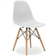 CHAISE Chaise Eames DSW style Gris (Gris)