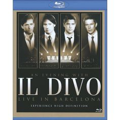 Il Divo: An Evening with Il Divo - Live in Barcelona [Blu-ray]