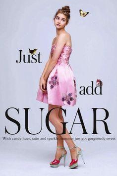 """Just Add Sugar"": Sharon Kavjian for Glamour UK June 2013"