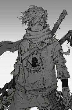 Jovem samurai