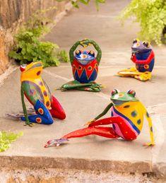 Happy Frog Head Fun Pot in 5 colors