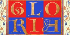 Goudy Lombardy CT is based on drawings of Medieval versals ('Lombardic Capitals') by Frederic W. Goudy from his book The Alphabet and Elements of Lettering. Works beautifully as initials with Goudy Text CT. Medieval Font, Medieval Manuscript, Creative Design, Web Design, Classic Fonts, Typography, Lettering, Illuminated Letters, Premium Fonts