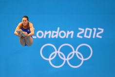 Laura Sanchez Soto of Mexico perfects her form