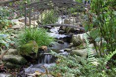 Waterfall created by Hoaglandscape in Belmont, NC. #WaterfallWednesday