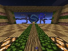 Defending Villagers Map For Minecraft PE 0.13.0 - http://minecraftpedownload.com/defending-villagers-map/