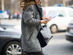 pfw street style fall 2013 runway