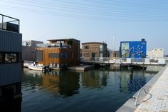 Floating houses, Ijburg, near Amsterdam