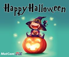 Say goodbye to dark thoughts and enjoy a happy, fun, bright #Halloween!