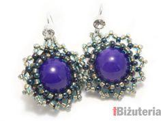 Tutorial, beaded bead earring