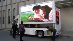 LED Truck Advertising Display Screen Led Display Screen, Mobile Advertising, Farm Animals, Trucks, Design, Truck