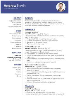 Resume Writing Samples, Professional Resume Samples, Job Resume Samples, Resume Writing Services, Resume Skills, Professional Cv Template Free, Customer Service Resume Examples, Resume Objective Examples, Good Resume Examples