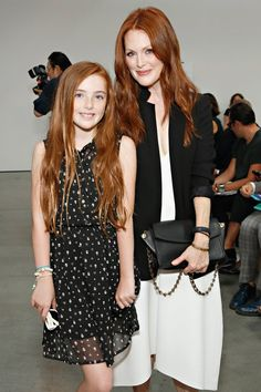 @britishvogue: #JulianneMoore and her lookalike daughter #LivFreundlich |  DID YOU SEE: The most identical and most adorable #celebrity mini mes – http://www.vogue.co.uk/mini-vogue/2015/celebrity-mini-mes---beckhams-kim-kardashian-beyonce