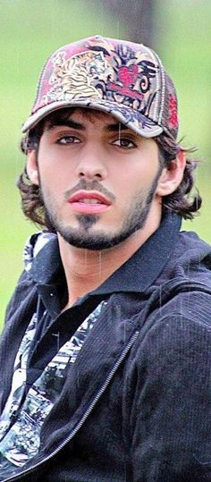 Omar Borkan Al Gala. My favorite picture of him.