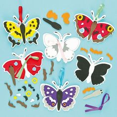 British Butterfly Hanging Decoration Kits (Pack of 6) by Baker Ross, http://www.amazon.co.uk/dp/B00AZL92R6/ref=cm_sw_r_pi_dp_c7kmrb12BPPYP