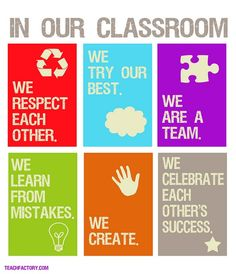 6 Best Images of Free Educational Posters Printables - Free Printable Classroom Rules Chart, Free Printable Motivational Classroom Posters and Free Printable Classroom Quotes Classroom Norms, Classroom Environment, Future Classroom, Classroom Ideas, Classroom Rules Poster, Classroom Signs, Classroom Rules High School, Math Posters Middle School, Classroom Expectations Poster