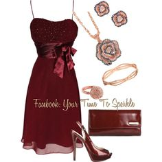 A fashion look from November 2012 featuring Nine West pumps, Kenneth Cole Reaction clutches and Park Lane bracelets. Browse and shop related looks.