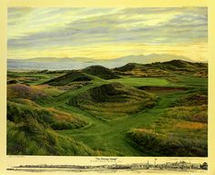 The Postage Stamp, The 8th Hole at Royal Troon Golf Club, Troon, England, via Flickr.