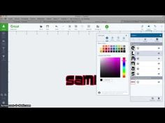 How to Shadow System Fonts in Cricut Design Space - YouTube