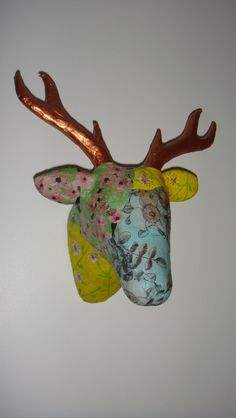 My very first decoupage deer