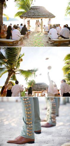 Zihuatanejo, Mexico Beach Wedding by Sabine Scherer | Style Me Pretty