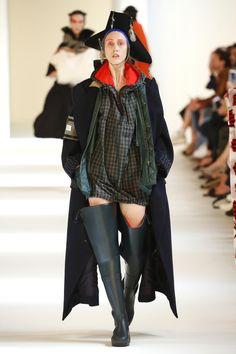 Maison Margiela | Haute Couture - Autumn 2016 | Look 3, model- Anna Cleveland